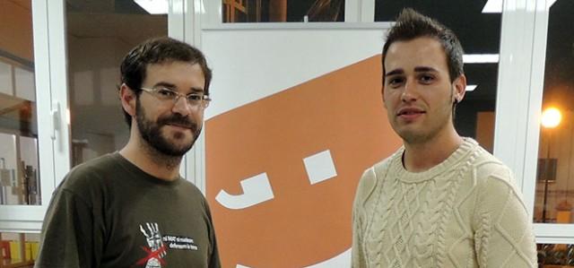 Jordi Puig, Secretari d'Organització Compromís Safor-Valldigna i regidor-portaveu a Ròtova; i Fran Ferri, diputat i portaveu adjunt del Grup Parlamentari Compromís a les Corts Valencianes.
